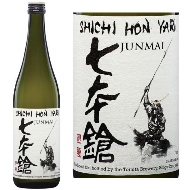 Shichi Hon Yari The Seven Spearsmen Junmai Sake 720ML