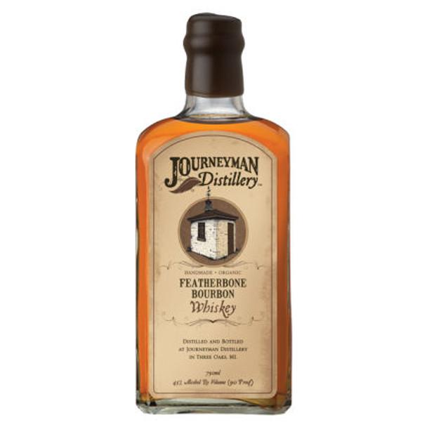 Journeyman Distillery Featherbone Bourbon Organic Whiskey 750ml
