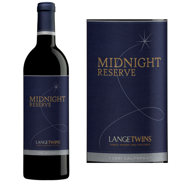 LangeTwins Midnight Reserve Lodi Red Blend