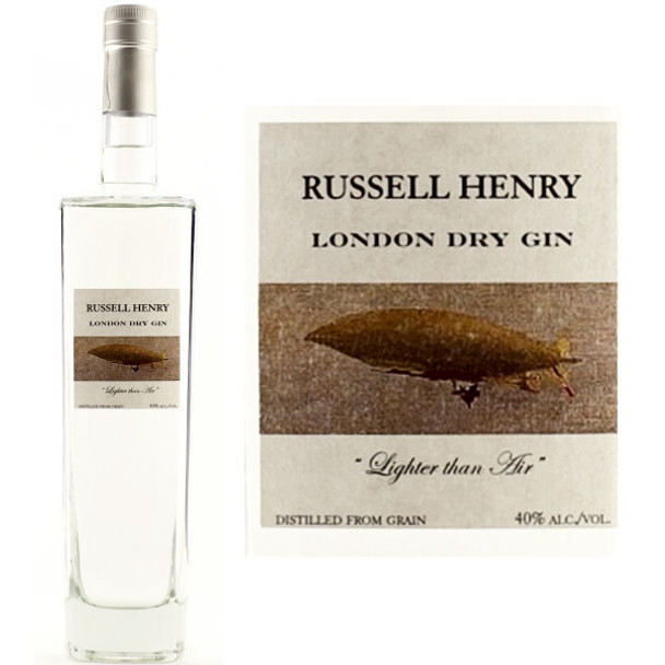 Russell Henry London Dry Gin 750ml