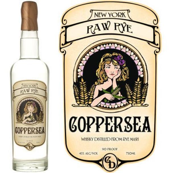 Coppersea New York Raw Rye 750ml