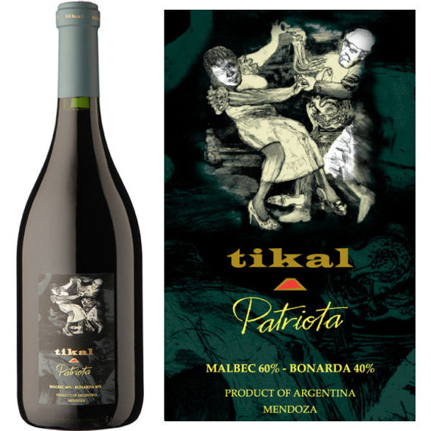 Tikal Patriota Red Blend
