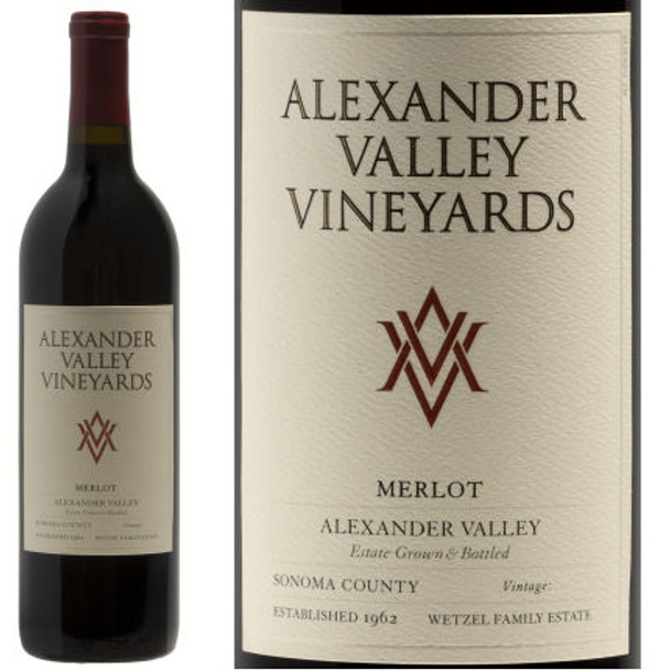 Alexander Valley Vineyards Alexander Merlot