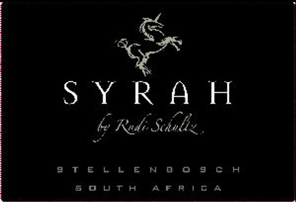 Rudi Schultz Stellenbosch Syrah