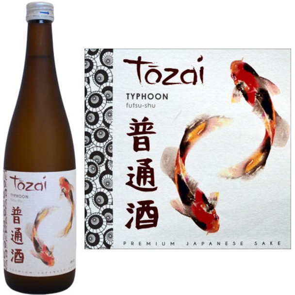 Tozai Typhoon Futsu-Shu Sake 720ml