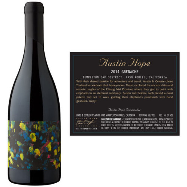 Austin Hope Templeton Gap District Paso Robles Grenache