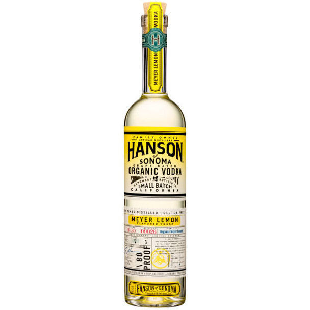 Hanson of Sonoma Boysenberry Organic Vodka 750ml