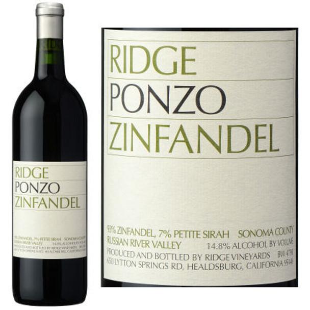 Ridge Ponzo Russian River Zinfandel