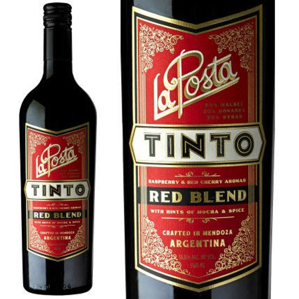 12 Bottle Case La Posta Tinto Red Blend 2015 (Argentina) w/ Free Shipping
