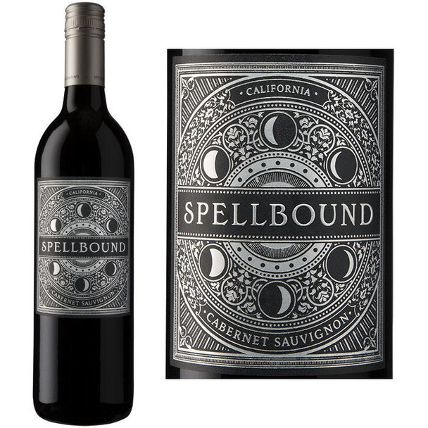 12 Bottle Case Spellbound California Cabernet 2016 w/ Free Shipping