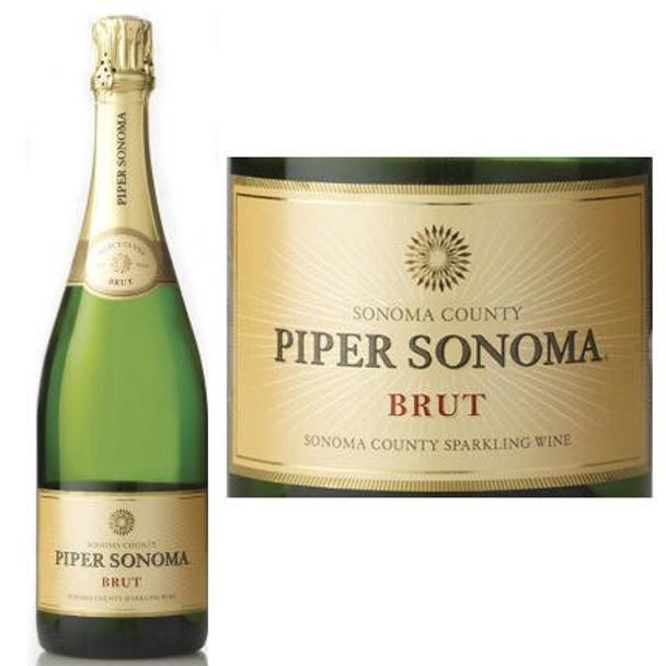 12 Bottle Case Piper Sonoma Brut NV w/ Free Shipping
