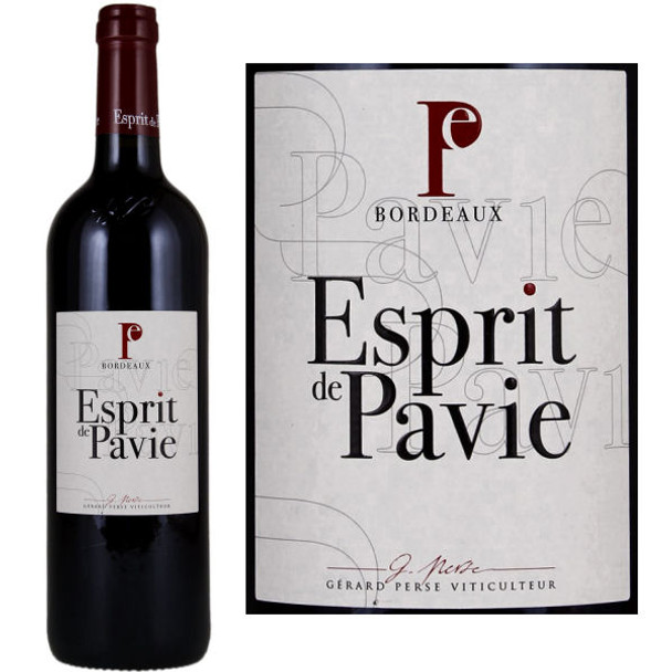 Esprit de Pavie Grand Vin de Bordeaux
