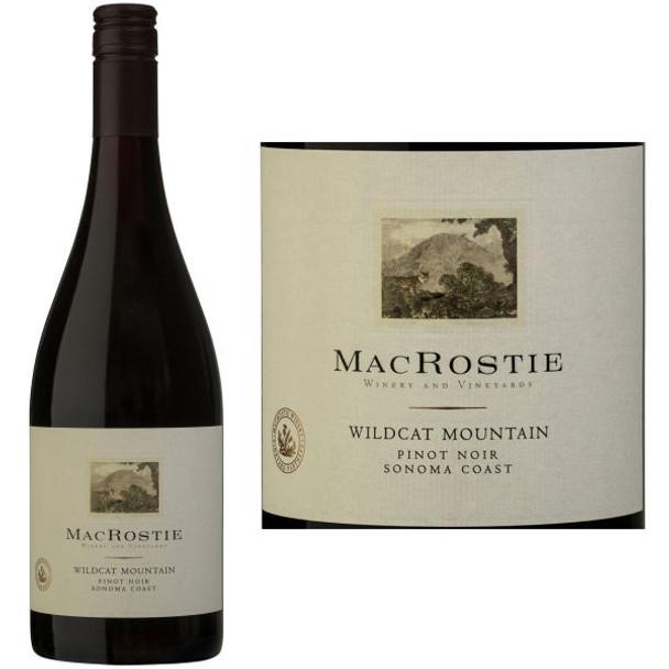 MacRostie Wildcat Mountain Vineyard Sonoma Coast Pinot Noir