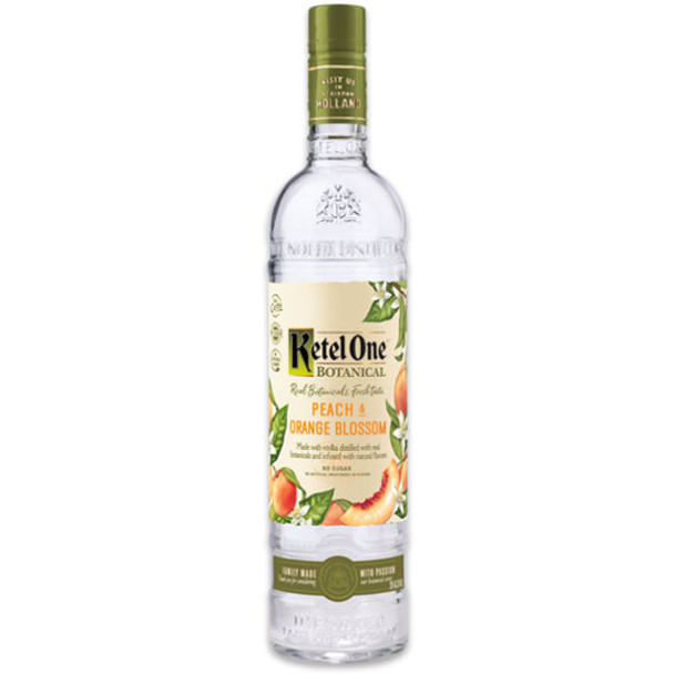 Ketel One Botanical Peach & Orange Blossom Vodka 750ml