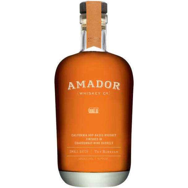 Amador Ten Barrels California Hop-Based Whiskey 750ml