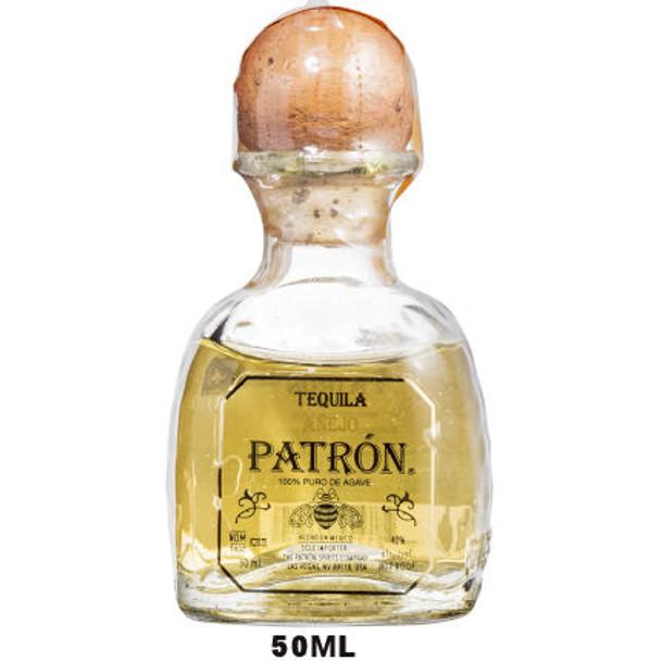 50ml Mini Patron Anejo Tequila