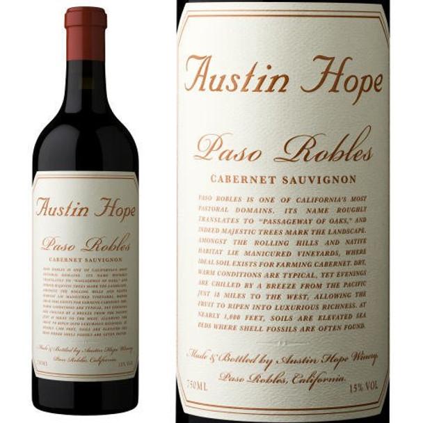 Austin Hope Paso Robles Cabernet