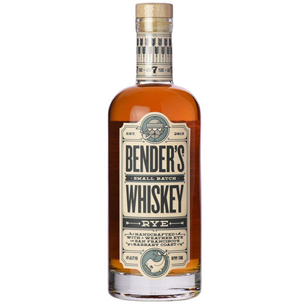 Bender's 7 Year Old Small Batach Rye Whiskey 750ml