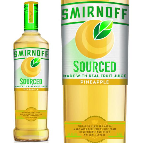 Smirnoff Sourced Pineapple Vodka 750ml