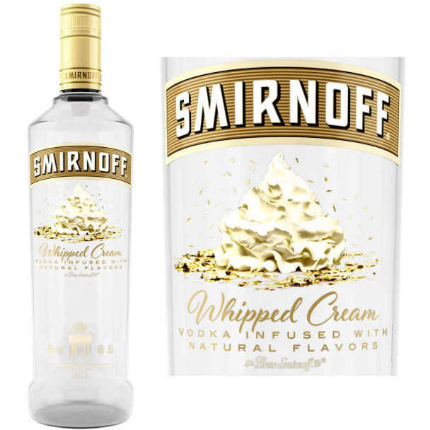 Smirnoff Whipped Cream Vodka 750ml