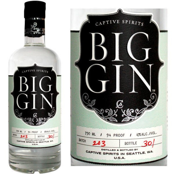 Captive Spirits Big Gin London Dry Gin 1L