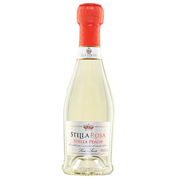 Il Conte d'Alba Stella Rosa Peach NV (Italy) 187ml