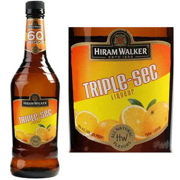 Hiram Walker Triple Sec Liqueur US 1L