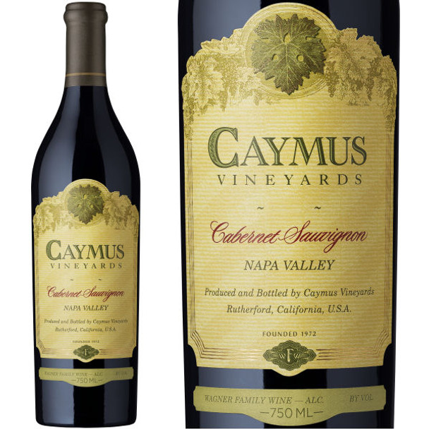 Caymus Vineyards 43rd Anniversary Napa Cabernet