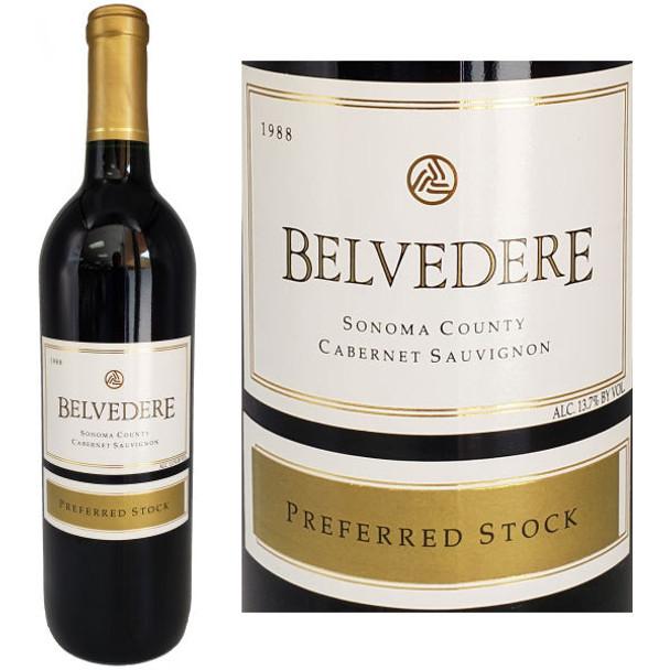Belvedere Preferred Stock Sonoma Cabernet