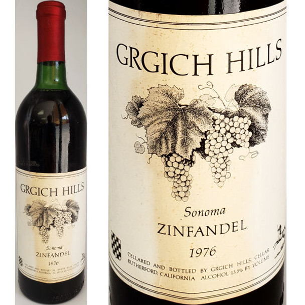 Grgich Hills Sonoma Zinfandel