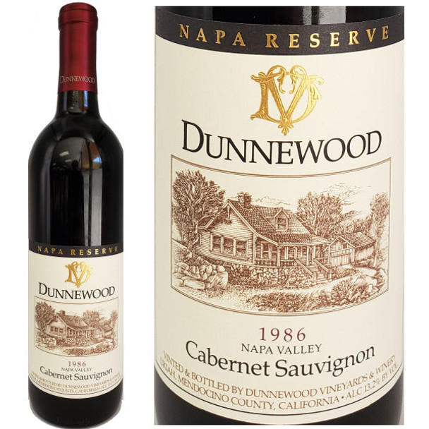 Dunnewood Reserve Napa Cabernet