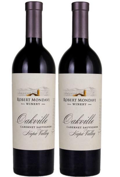 Robert Mondavi Oakville Napa Cabernet 2 Bottle Combo