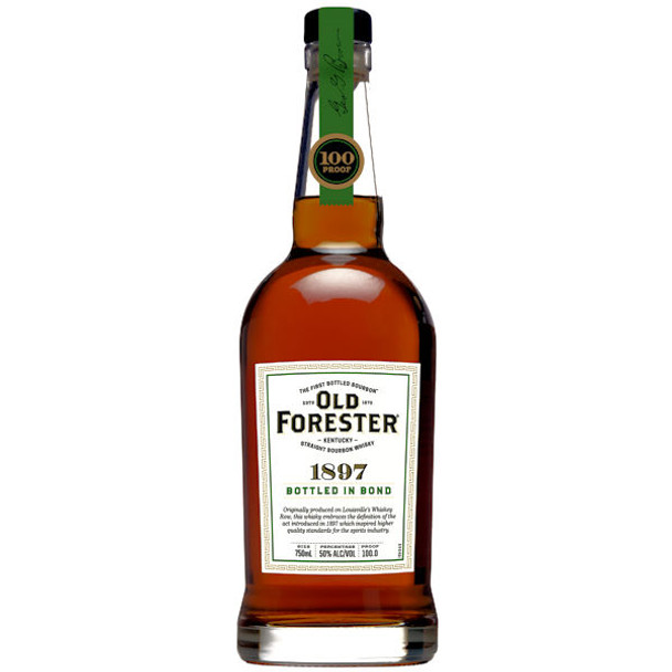 Old Forester 1897 Bottled In Bond Kentucky Straight Bourbon Whisky 750ml
