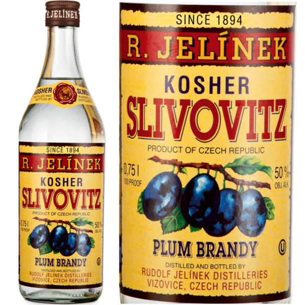 R. Jelinek Slivovitz 5 Year Old Plum Brandy 750ml