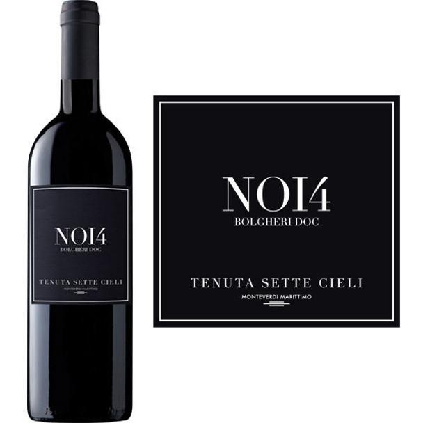 Tenuta Sette Cieli NOI4 Bolgheri DOC 2014 (Italy) Rated 92WS