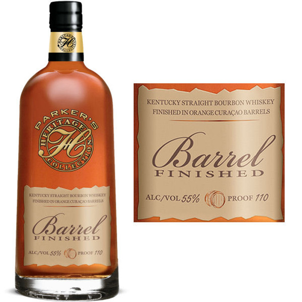 Parker's Heritage 12th Edition 7 Year Old Barrel Finished Bourbon Whiskey 750ml856160000011