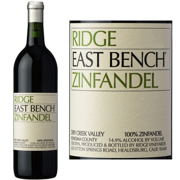 Ridge East Bench Dry Creek Zinfandel