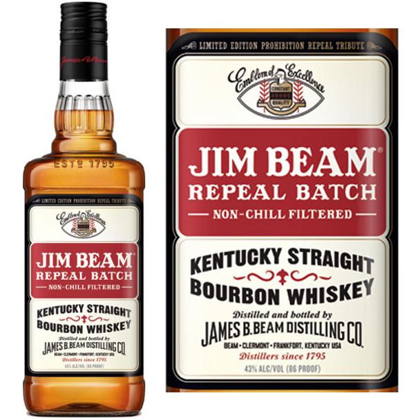 Jim Beam Repeal Batch Kentucky Straight Bourbon Whiskey 750ml