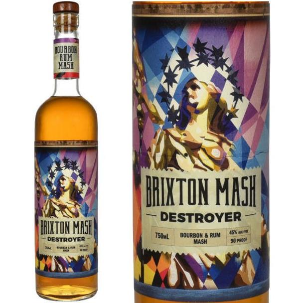 John Drew Brixton Mash Destroyer Bourbon & Rum Mash 750ml