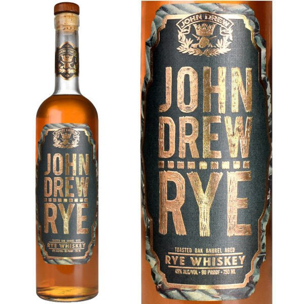 John Drew Rye Whiskey 750ml