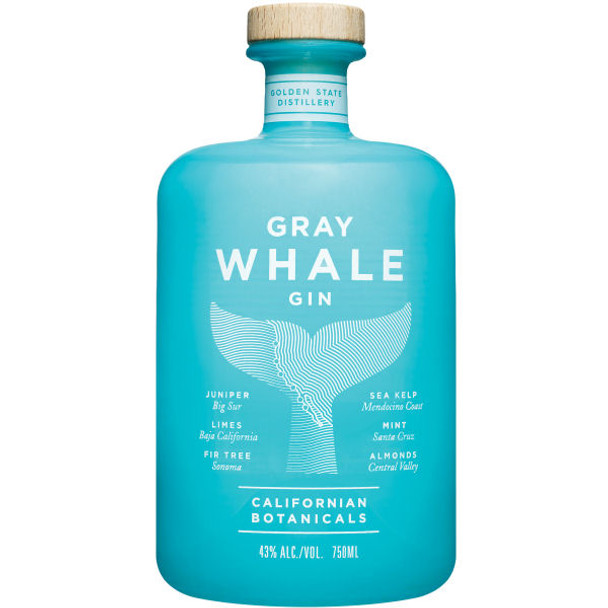 Gray Whale California Botanicals Gin 750ml