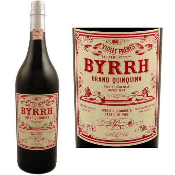Byrrh Grand Quinquina Apertif 750ml