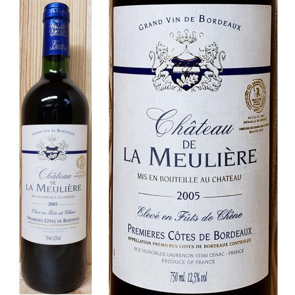 Chateau de la Meuliere Cotes de Bordeaux