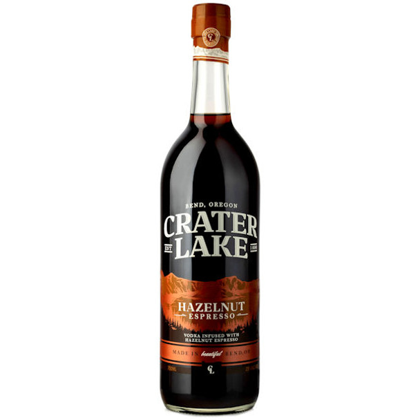 Crater Lake Hazelnut Espresso Vodka 750ml
