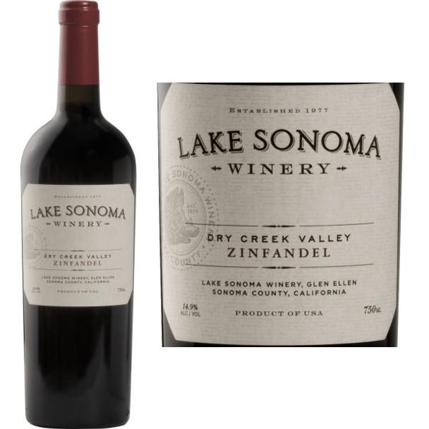 Lake Sonoma Dry Creek Zinfandel