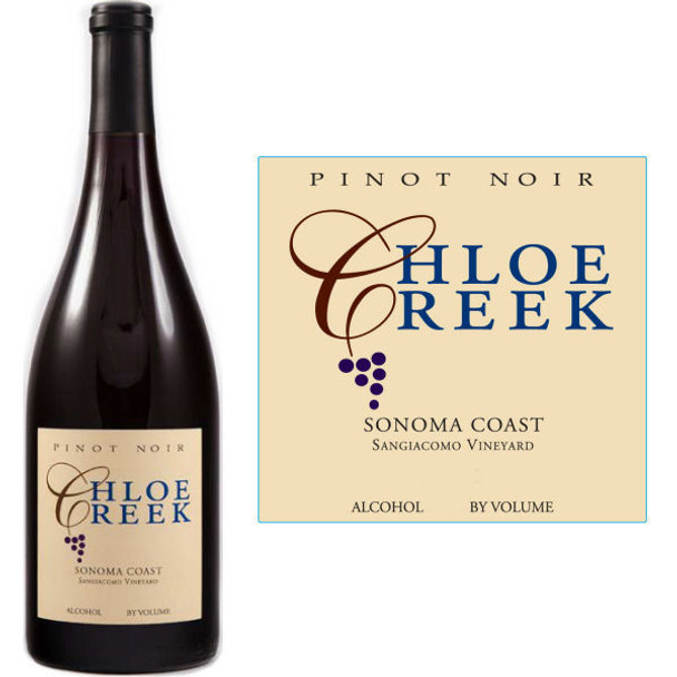 Chloe Creek Sangiacomo Vineyard Sonoma Coast Pinot Noir