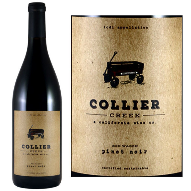 Collier Creek Red Wagon Lodi Pinot Noir