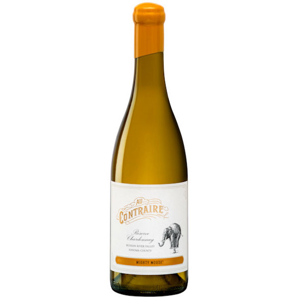 Au Contraire Mighty Mouse Reserve Russian River Chardonnay