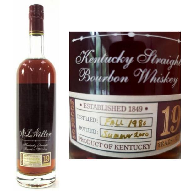 W.L. Weller 19 Year Old Summer 2000 Bourbon Whiskey 750ml