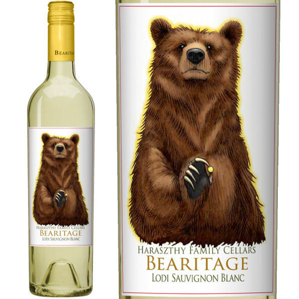 Bearitage by Haraszthy Family Cellars Lodi Sauvignon Blanc